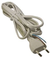 Flexo šňůra PVC 2x0,75 mm, 2m bílá, 2401720132
