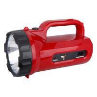 Svítilna nabíjecí LED s power bankou, 5W, 235lm, červená