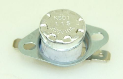 Tepelná pojistka vratná 115°C 10A / 250V