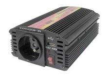 Měnič napětí 24V/230V  300W CZ + USB CARSPA