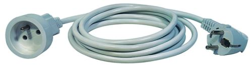 Prodlužovací kabel – spojka, 7m, bílý, 1901010700