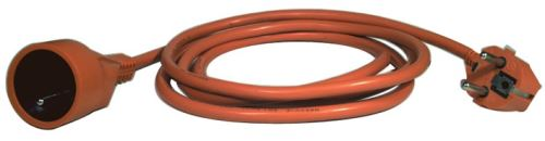 Prodlužovací kabel – spojka, 40m, 3× 1,5mm, oranžový P01140