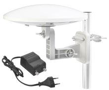 Venkovní anténa EMOS EM-9016C, 0–80 km DVB-T2, 2702016000