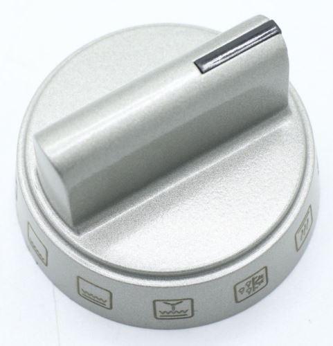 Knoflík ovládání funkce trouby 9070438 AMICA - stříbrný