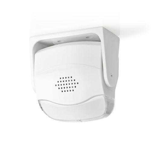Vstupní Dveřní Pohybový Alarm | Montáž na Zeď nebo na Strop | Zvonek Nedis AMLRMMW40WT