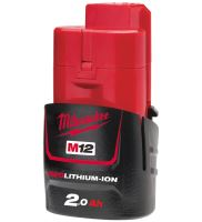 TTI MIL AKUMULÁTOR M12 B2 REDLITHIUM-ION 12V 2,0AH 4932430064