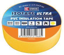 Izolační páska PVC 19mm / 20m žlutá, 2001192060