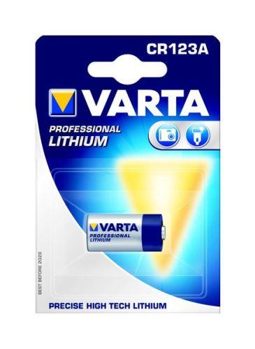Baterie Varta CR123A 1ks