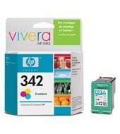 HP C9361EE Ink Cart No.342 pro DJ 5440, OJ1510, 5ml, Color , C9361EE#BA3