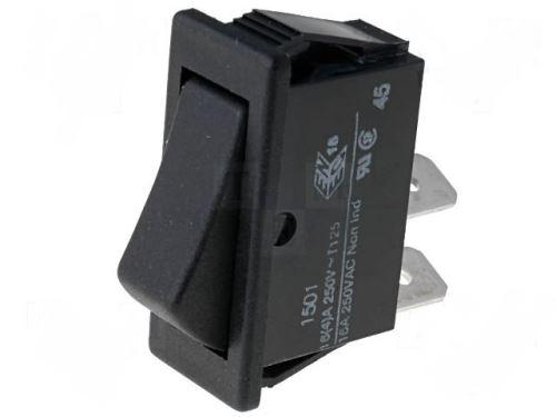 Kolébkový vypínač OFF - (ON) tlačítko