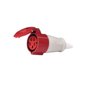 Zásuvka kabelová - 5P spojka 400 V / 16 A