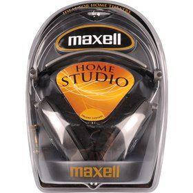 303005 HOME STUDIO HEADPHONES MAXELL