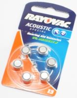 Baterie Rayovac Acoustic Special 675 6ks
