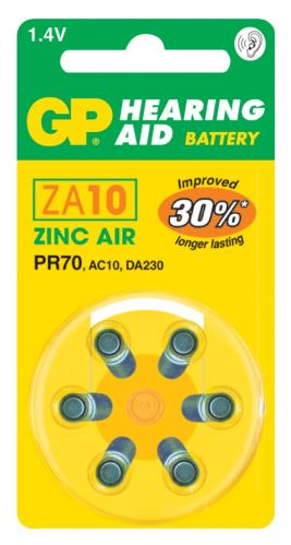 Baterie do naslouchadel GP ZA10