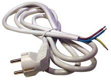 Flexo šňůra PVC 3x1,0 mm, 5m bílá, 2413150132