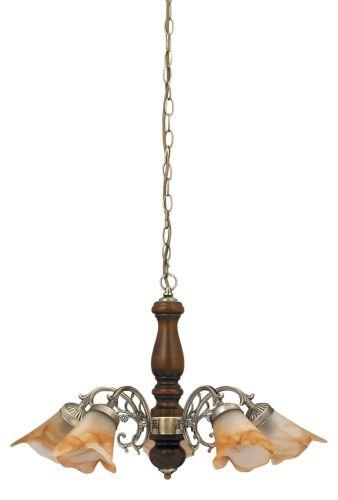 Rabalux 7095 Rustic 3, závěsná lampa, 5 arms, D68cm
