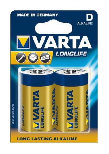 Baterie VARTA LONGLIFE EXTRA D 2ks