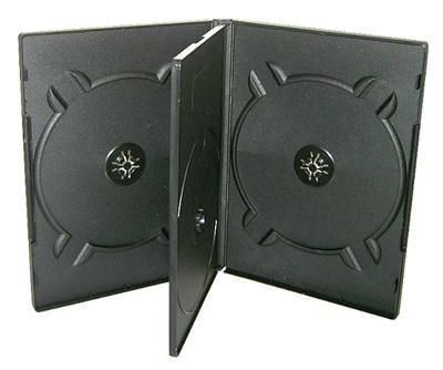 COVER IT Krabička na 4 DVD 19mm černý 5ks/bal