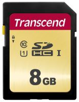 Transcend 8GB SDHC 500S (Class 10) UHS-I U1 (Ultimate) MLC paměťová karta