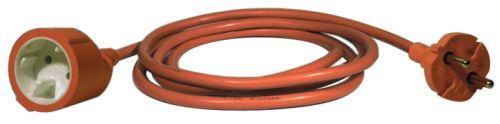 Dvoužílový pohyblivý přívod – 20m, oranžový, 1901012001