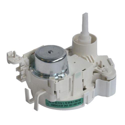Motorek rozdělovače vody myčky WHIRLPOOL 481228128431