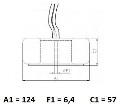 TRAFO JOC T6540-0048, 230V//10-48V/3A, 10-18V/5A, 232VA, IP00, TA 40°C/B, TOR-Z