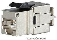 INTE SOLARIX 10G KEYSTONE SXKJ-10G-STP-BK-NA CAT6A STP ČERNÝ 25286903
