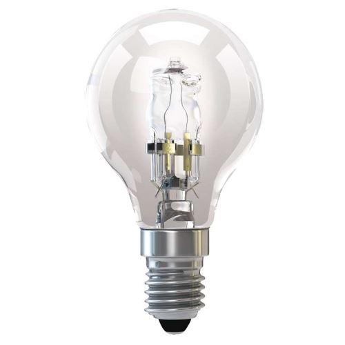 Halogenová žárovka ECO Mini Globe 42W E14 teplá bílá, stmív., ZH1013