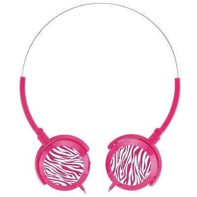 Genius sluchátka GHP-400F, skládací, růžové
