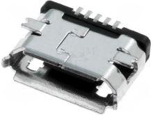 Zásuvka USB B micro, PCB, 5 pin ESB228110100Z