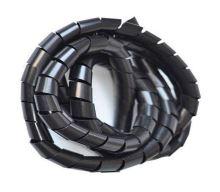 Svazkovací spirála 20-70mm,pr.12mm/bal.10m černá