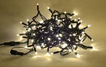 PROFI jiskřící řetěz J-LED-200 PROFI, 200 LED, teplá bílá