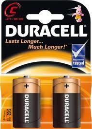 Baterie Duracell Basic C / LR14 / MN1400 / malé mono K2