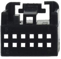 MOST plast. pouzdro 25.055/4 černé, 25055/5
