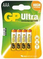 Alkalická baterie GP Ultra LR03 (AAA), 1014114000