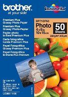 Brother fotopapír BP71GP50, 50 listů, 10x15cm Premium Glossy, 260g, BP71GP50