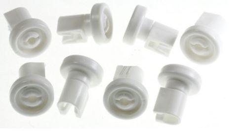 Kolečka horního koše myčky AEG / ELECTROLUX / ZANUSSI  sada 8 ks náhrada 50269970005
