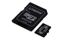 KINGSTON 32GB microSDHC CANVAS Plus Memory Card 100MB read - UHS-I class 10 Gen 3  SDCS2/32GB