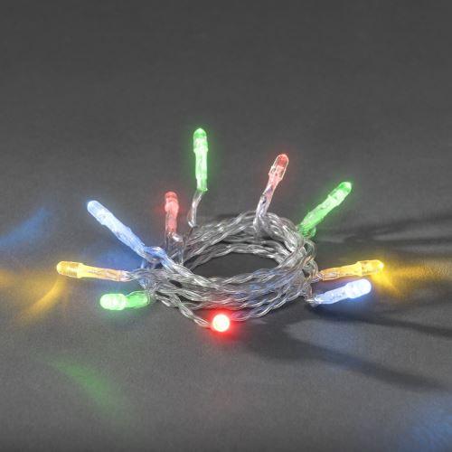 Řetěz bateriový 1408-503, 20 LED, barevný
