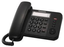 Panasonic KX-TS520FXB - jednolinkový telefon, černý KX-TS520FXB