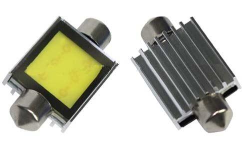 LED sufit (39mm) bílá, 12V, COB, 95COB02