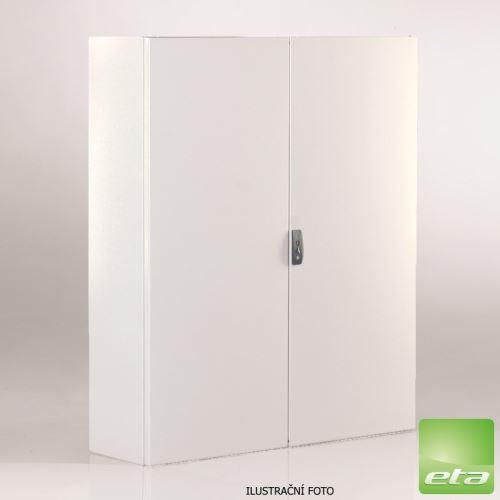 ETA ST SKŘÍŇ S MONT. PANELEM 2K (Š1000XV1000XH300MM) IP66/ST101030 (NÁHRADA:EC101030)