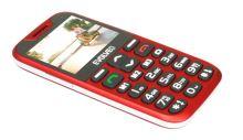EVOLVEO EasyPhone XD, mobilní telefon pro seniory s nabíjecím stojánkem, červený EP-600-XDR