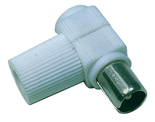 Konektor IEC vidlice šroubovací úhlový, K1451