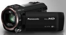 "Panasonic HC-V770EP-K, 1/2,3"" BSI, 20x zoom, WiFi, černá HC-V770EP-K"