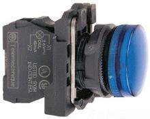 SCHN HARMONY SIGNÁLKA LED 230-240VAC KOMPLET MODRÁ XB5AVM6
