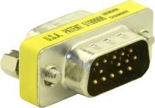 Adaptér DB15 (VGA) samec/samec, 65010