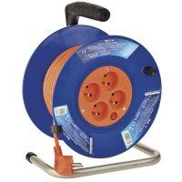 PVC prodlužovací kabel na bubnu – 4 zásuvky, 25m, 1mm2, 1908142500