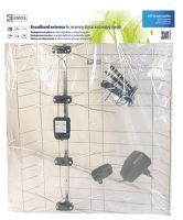 Venkovní anténa EMOS EM-030, 0–100 km DVB-T2, 2703106000