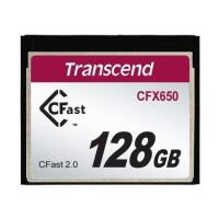 Transcend 128GB CFast 2.0 CFX650 paměťová karta (MLC)